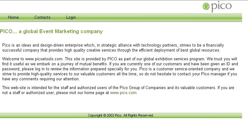 PICO - a global Event Marketing Company